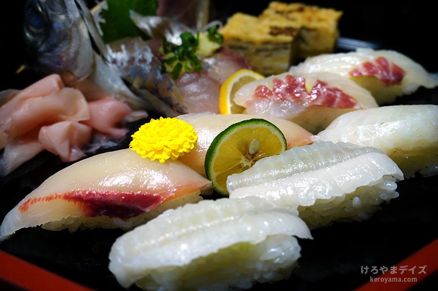 【06】寿司パワーと地魚にぎり