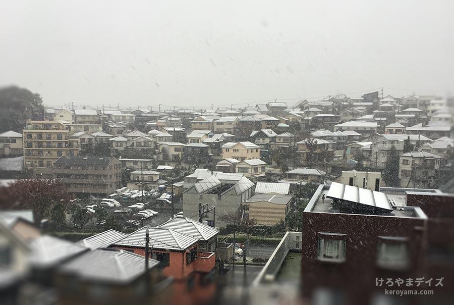 【18】季節はずれの雪が降る