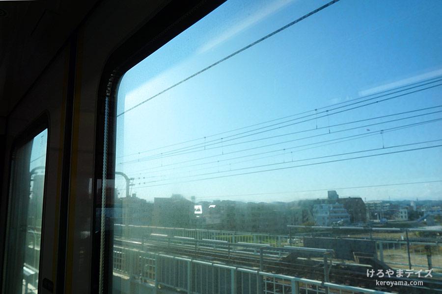 車窓から見える風景